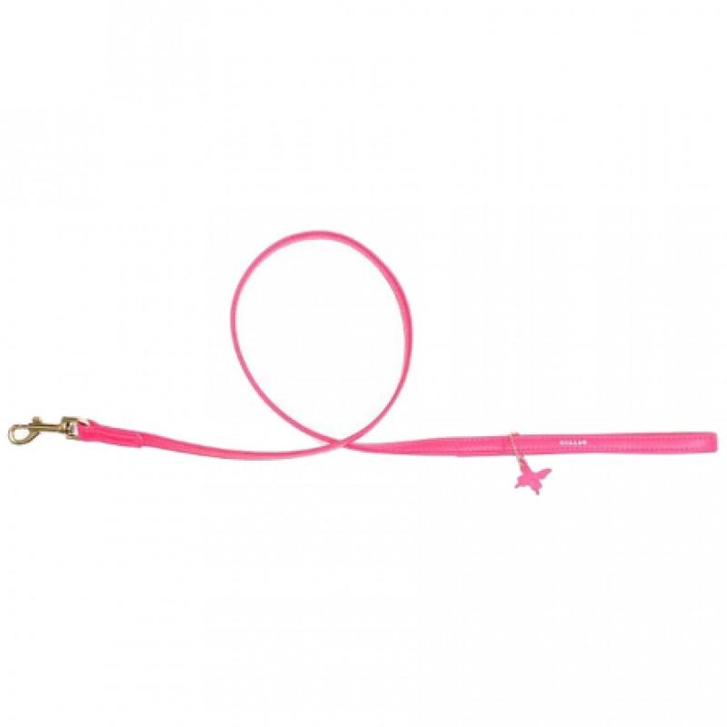 CoLLaR GLAMOUR Поводок розовый (ширина 9 мм, длина 122 см)