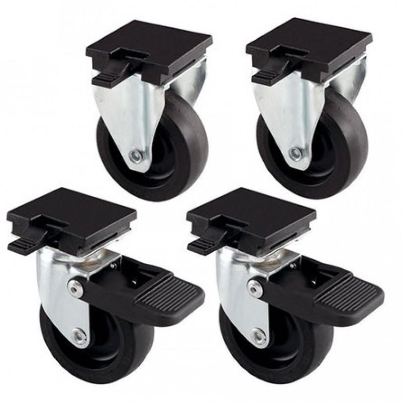 Ferplast Комплект колес для переносок ATLAS 50/60 (новое крепление)