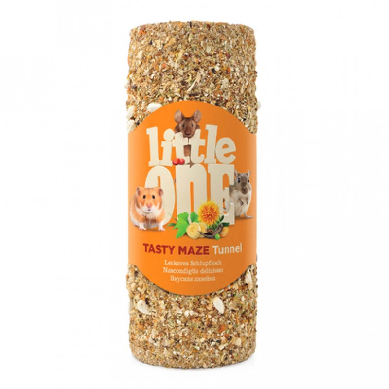 Little One Туннель Лакомство-игрушка для грызунов, 120 гр