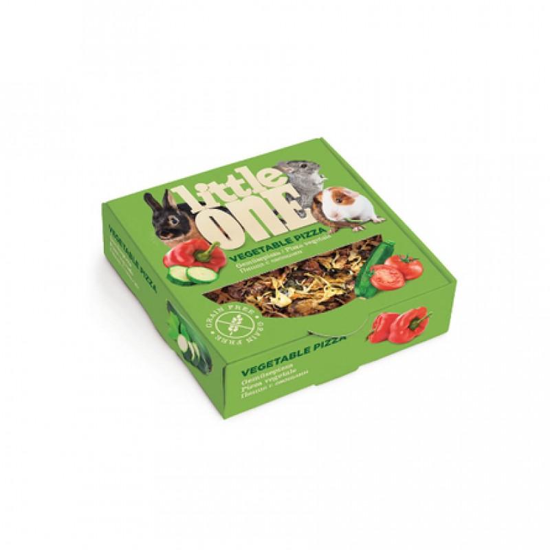 Little One Пицца с овощами Лакомство для грызунов (с овощами), 55 гр