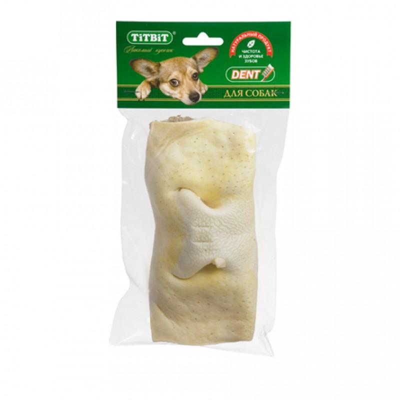 TiTBiT Нос телячий бабочка для взрослых собак средних пород