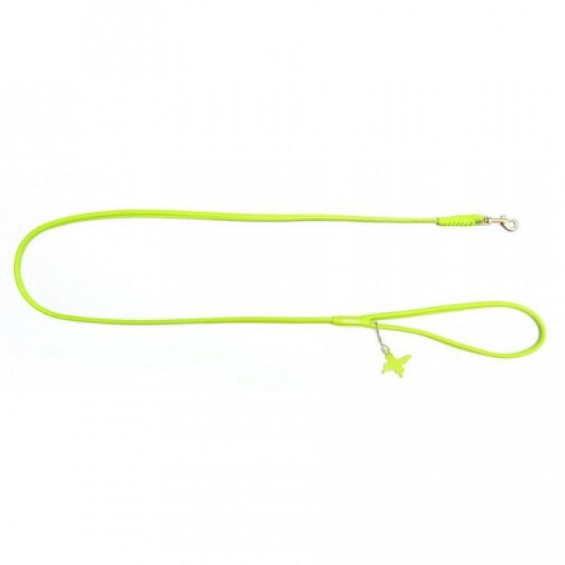 CoLLaR GLAMOUR Поводок круглый зеленый (ширина 6 мм, длина 122 см)