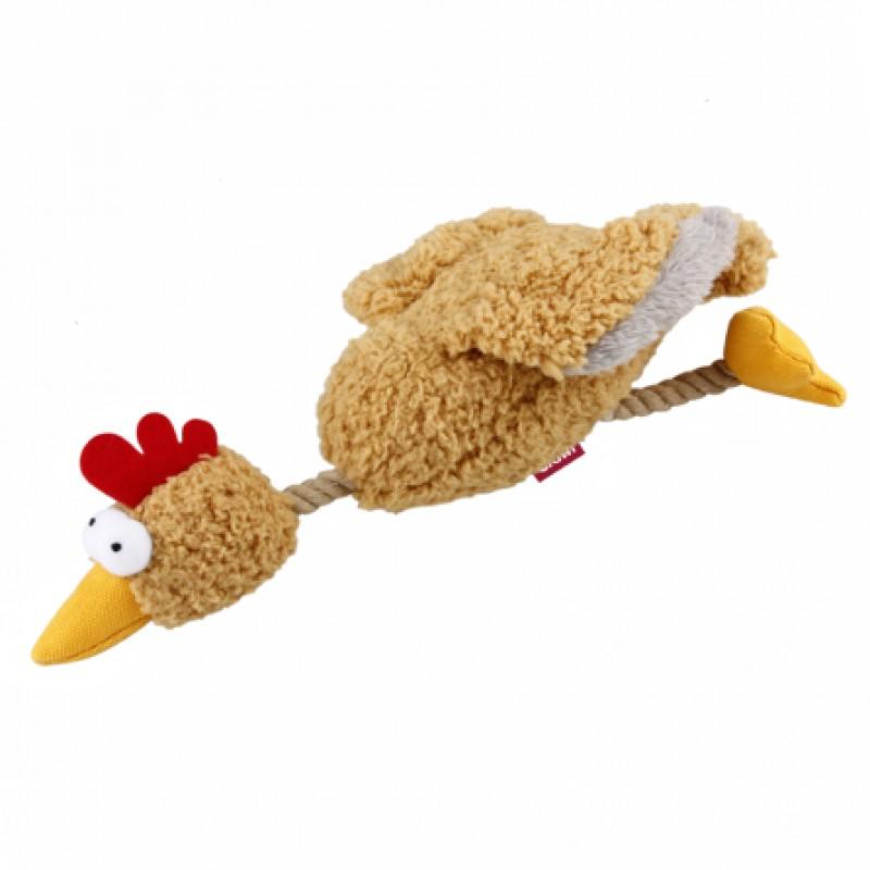 GiGwi Игрушка для собак Курица с пищалкой