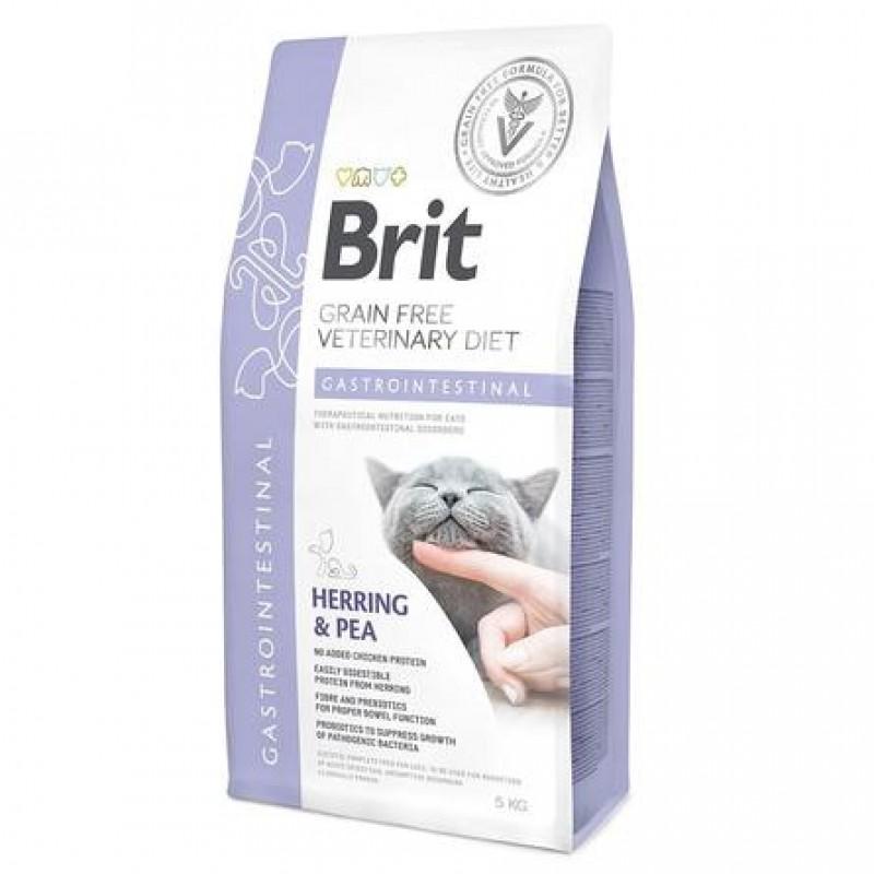 Brit VDC Gastrointestinal Сухой корм для кошек Беззерновая диета при остром и хроническом гастроэнтерите, 2 кг