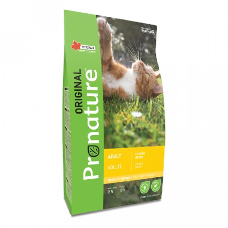 Pronature Original NEW Сухой корм для взрослых кошек (с курицей), 5 кг