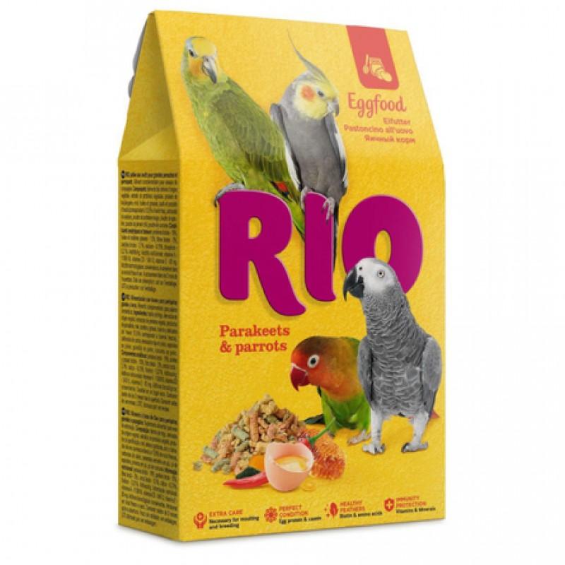RIO Яичный корм для средних и крупных попугаев, 250 гр