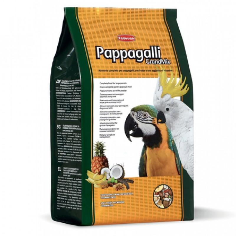 Padovan Grandmix Pappagalli Корм для крупных попугаев, 2 кг