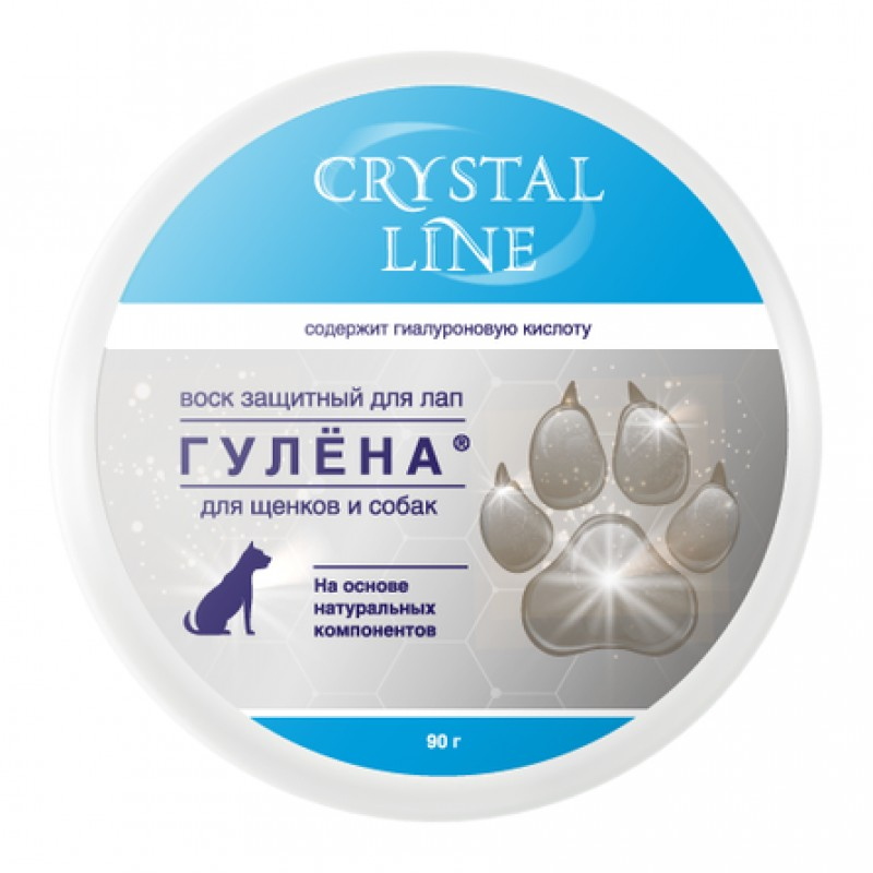 Crystal Line Гулёна Защитный воск для лап, 90 гр