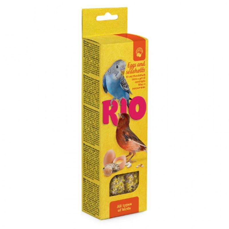 Rio Палочки для всех видов птиц (с яйцом и ракушечником), 80 гр