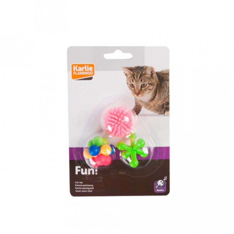 Flamingo Мячики Игрушка для кошек