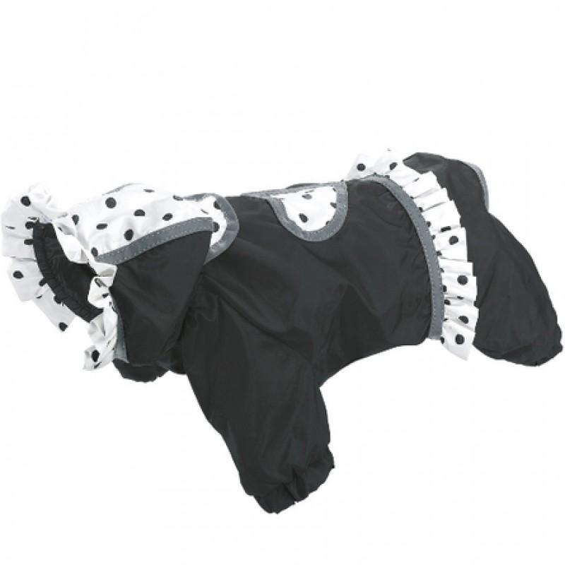 Ferplast Coccinella Black Комбинезон для собак, размер 34 см, черный