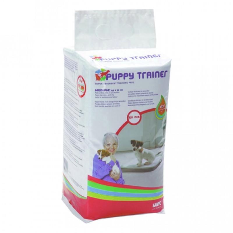 Savic Puppy Trainer M Пелёнки для щенков средних пород, 50 шт