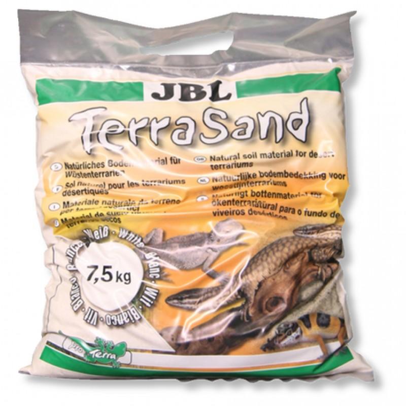 JBL TerraSand Донный грунт для сухих террариумов, натуральный белый, 5 л