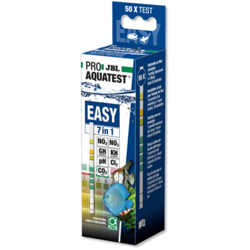 JBL ProAquaTest Easy 7in1 Тест-полоски для быстрого анализа аквариумной воды
