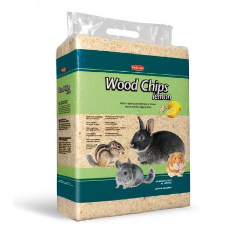 Padovan Wood Chips Древесная стружка для грызунов (с ароматом лимона), 4 кг