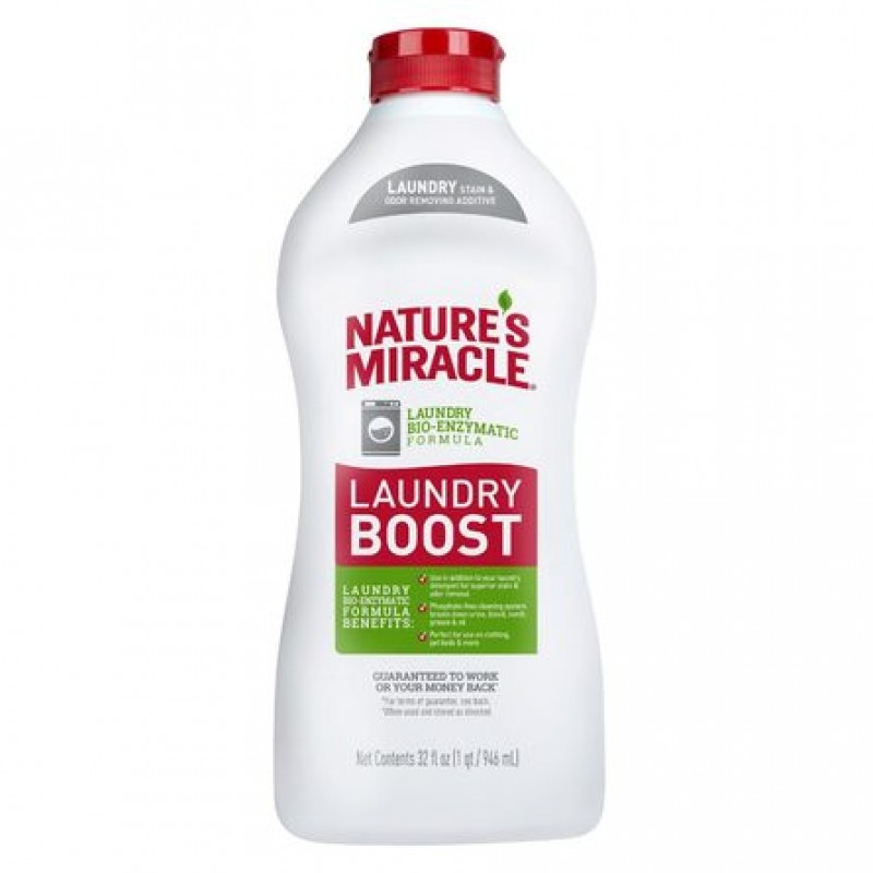 8in1 NM Laundry Boost Stain&Odor Уничтожитель пятен и запахов для стирки, 946 мл