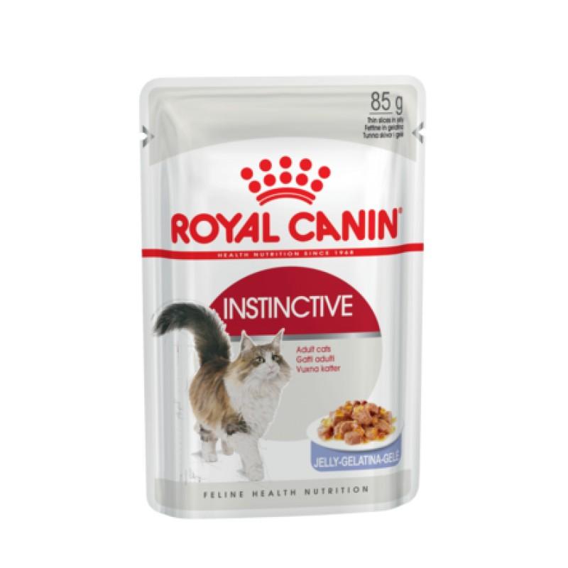 Royal Canin Instinсtive Кусочки паштета в желе для взрослых кошек, 85 гр