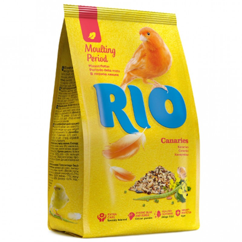 RIO Корм для канареек в период линьки, 500 гр