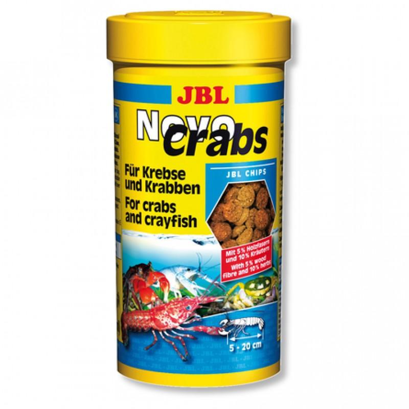 JBL NovoCrabs Корм для панцирных ракообразных, чипсы, 250 мл