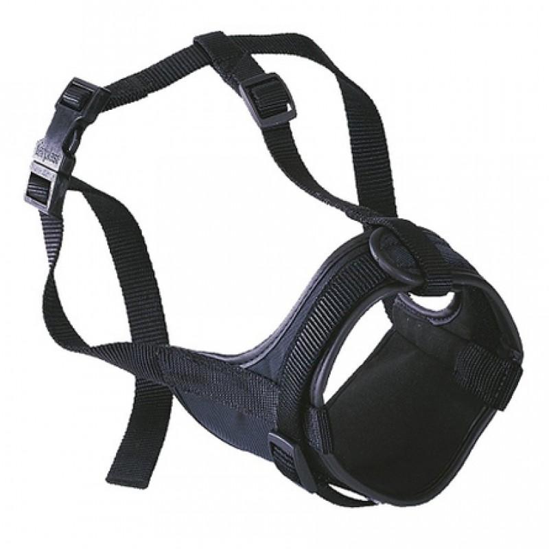 Ferplast Safe Boxer Мягкий намордник, обхват морды 20-30 см, обхват шеи 50-80 см, длина морды 10 см