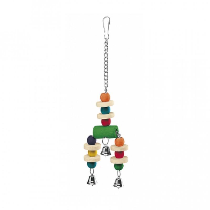 Ferplast Игрушка с тремя колокольчиками для птиц