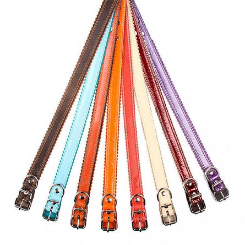 Dogger Ошейник для собак, строченый, цветной, ширина 2 см, длина 35-55 см