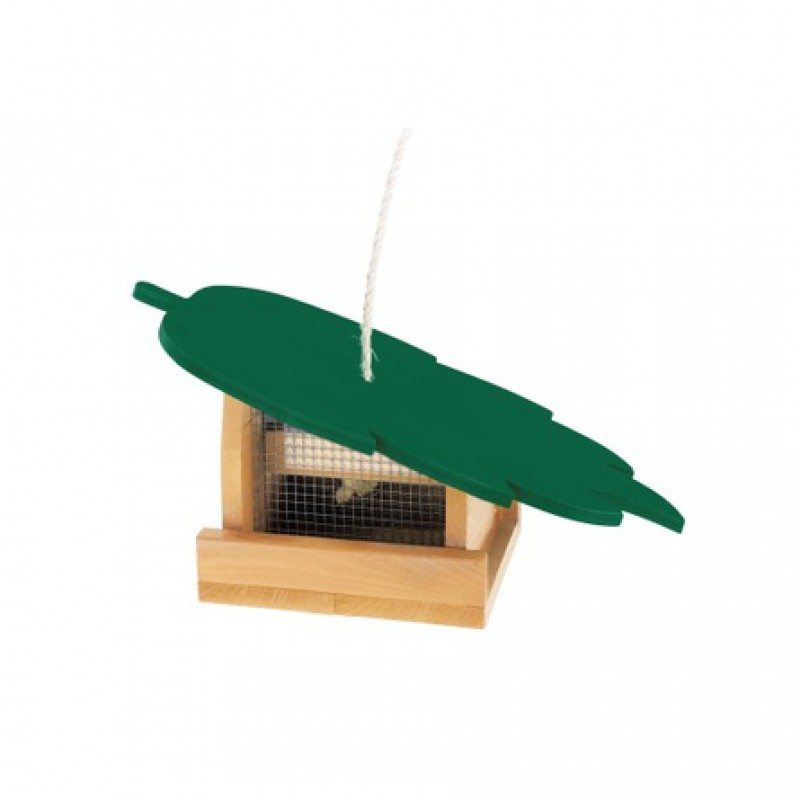 Ferplast Уличная кормушка для птиц NATURA F7, деревянная