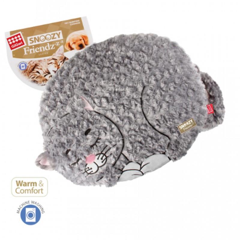 GiGwi Лежанка ''Кошка'' для животных, искусственный мех