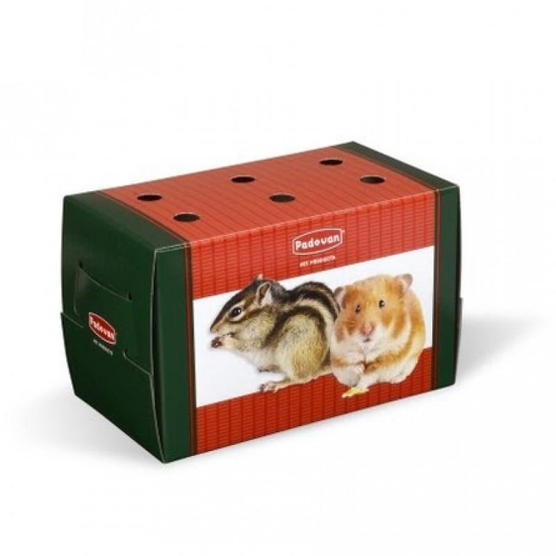 Padovan TRANSPORTINO piccolo переноска картонная для грызунов и птиц