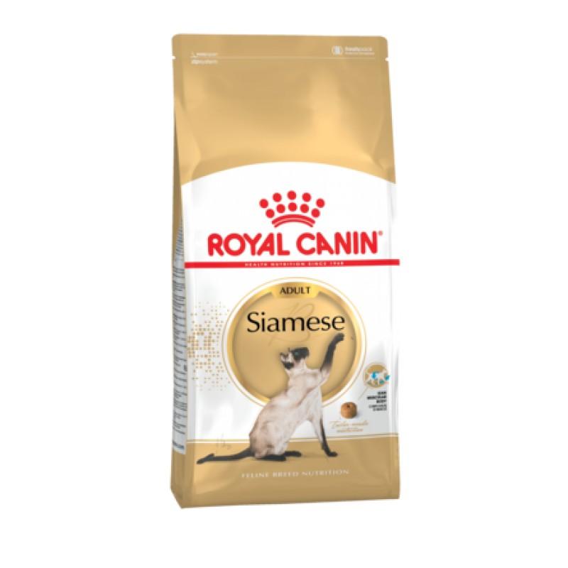 Royal Canin Siamese Adult Сухой корм для взрослых кошек Сиамской породы, 400 гр