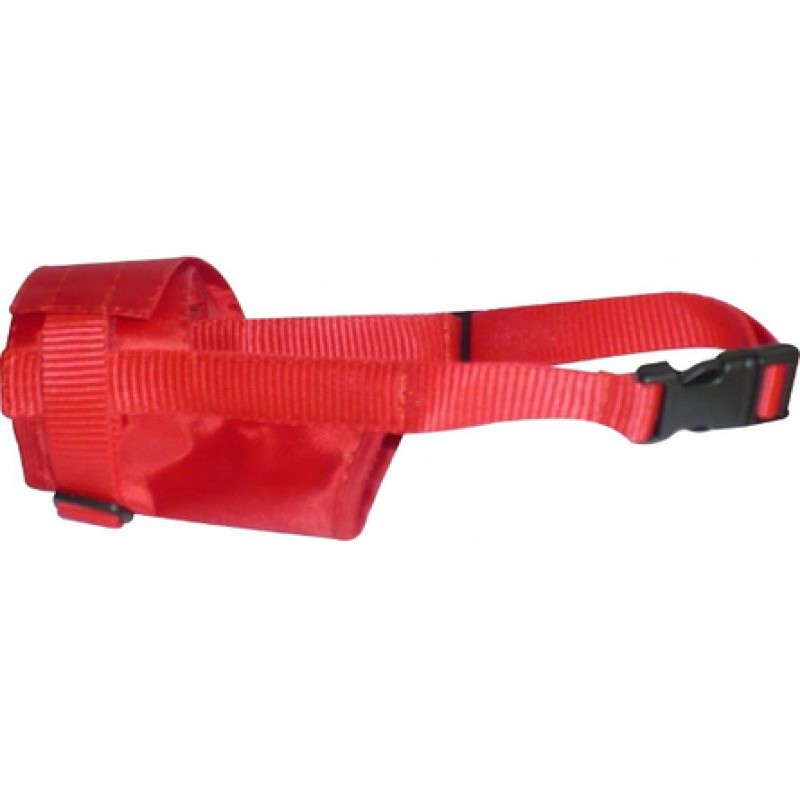 Collar Dog Extreme Намордник, обхват морды 25-34 см, красный