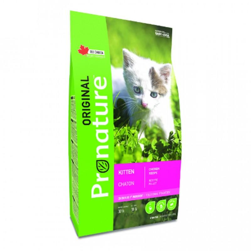 Pronature Original NEW Сухой корм для котят (с курицей), 2,27 кг
