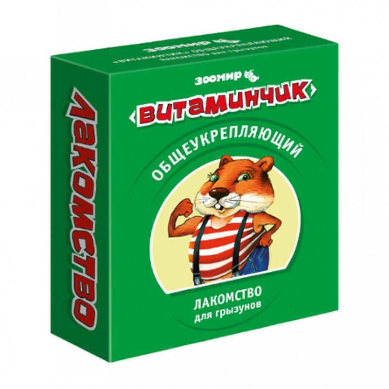 Витаминчик Лакомство для грызунов витаминизированное, 50 гр