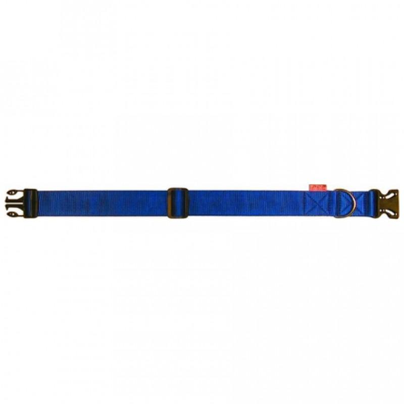 Collar Dog Extreme Ошейник для собак нейлоновый, регулируемый, ширина 2,5 см, длина 40-65 см, синий