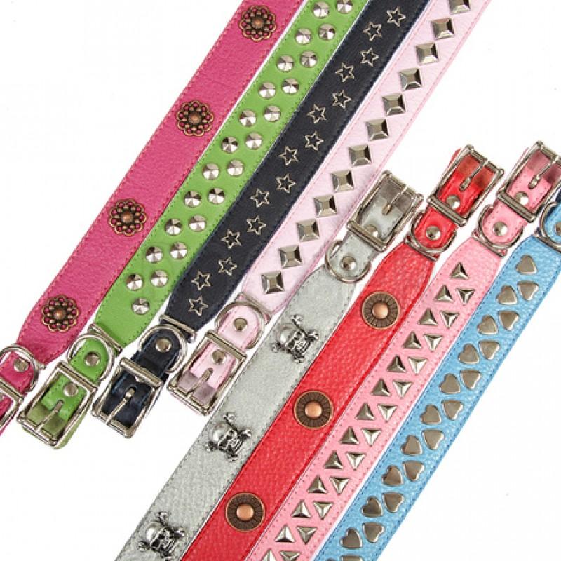 Dogger Ошейник для собак, с расширением, фурнитура, цветной, ширина 2 см, длина 35-55 см