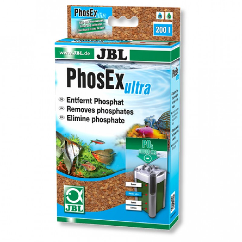 JBL PhosEx ultra Фильтрующий материал для устранения фосфатов из аквариумной воды, 340 гр
