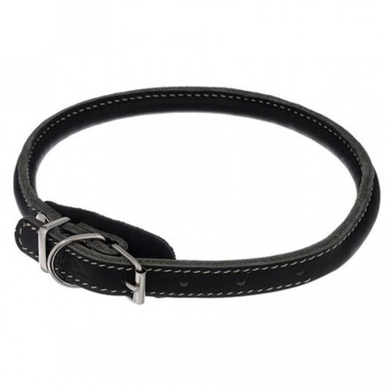 Аркон Ошейник для собак ''Чау-Чау'', короткий, круглый, длина 45-53 см, черный