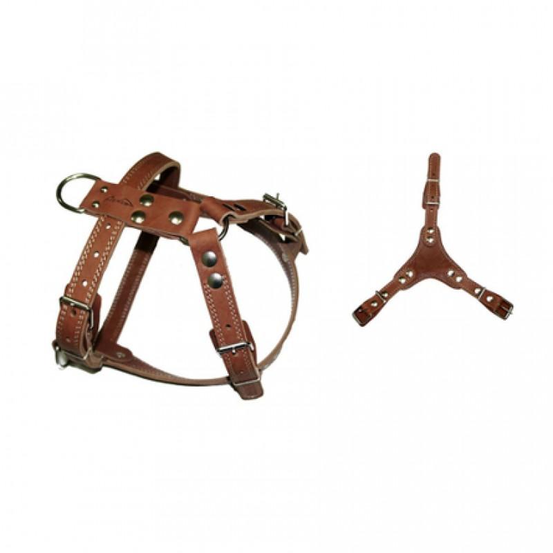 Аркон Шлейка универсальная, ширина 2,5 см, обхват 90-109 см, цвет коньячный