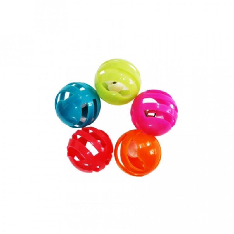 Уют Мяч-погремушка Решетчатый Игрушка для кошек