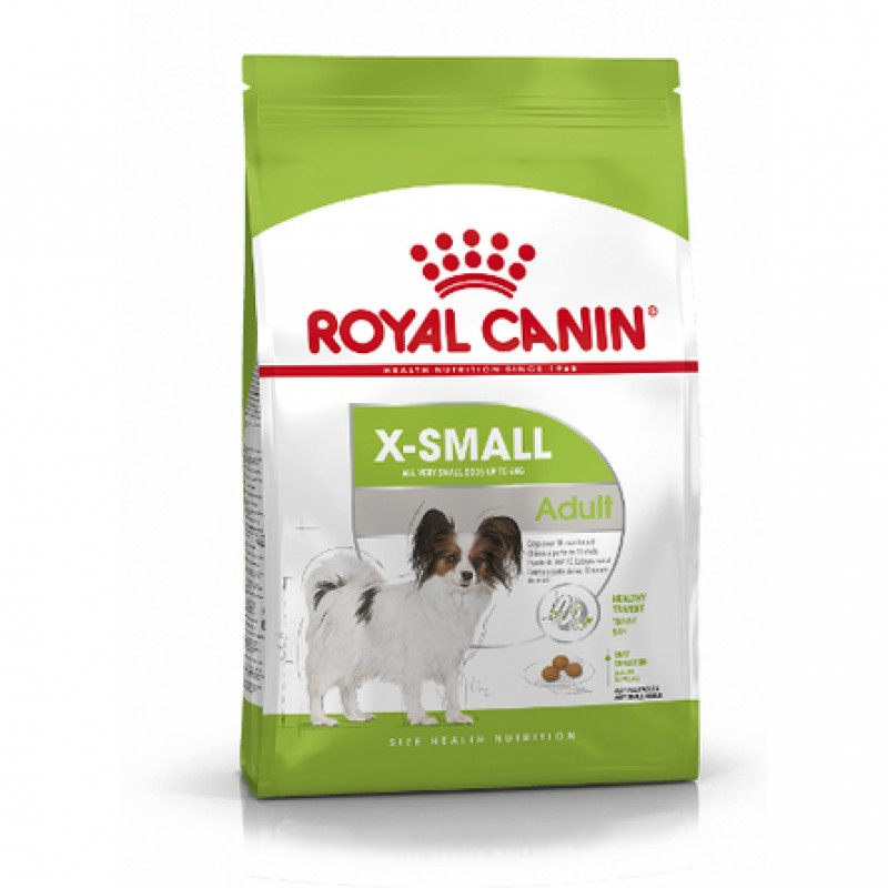 Royal Canin X-Small Adult Сухой корм для взрослых собак миниатюрных пород, 3 кг