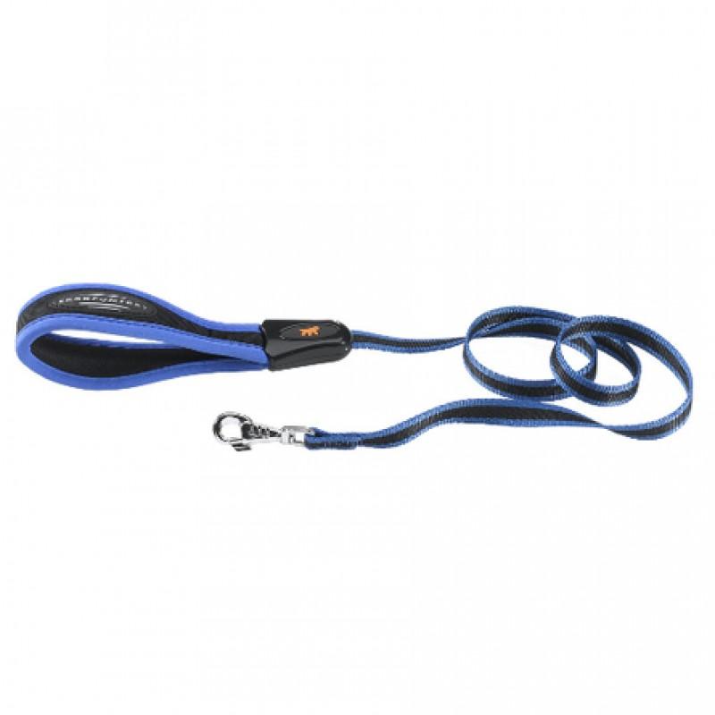 Ferplast Ergocomfort G Поводок, ширина 2 см, длина 1,2 м, синий