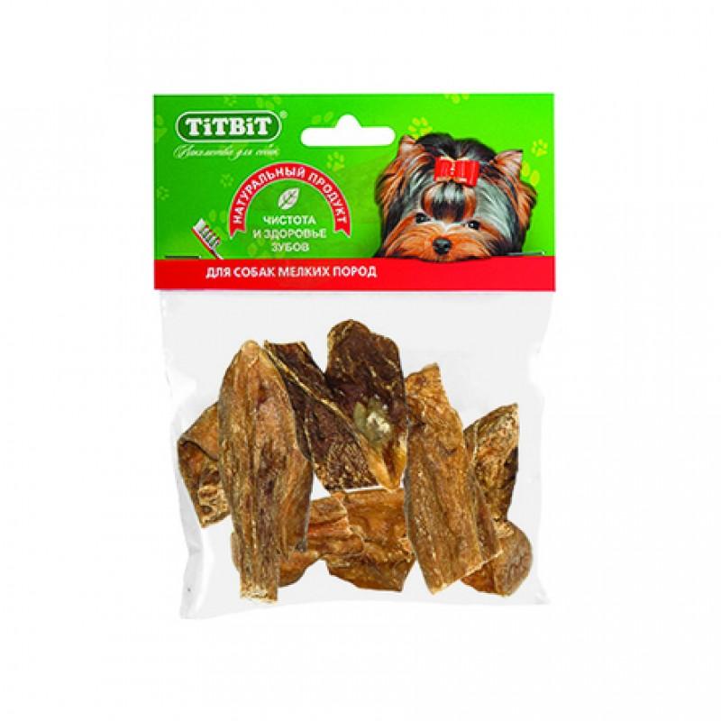 TiTBiT Вымя говяжье мини для взрослых собак мелких пород