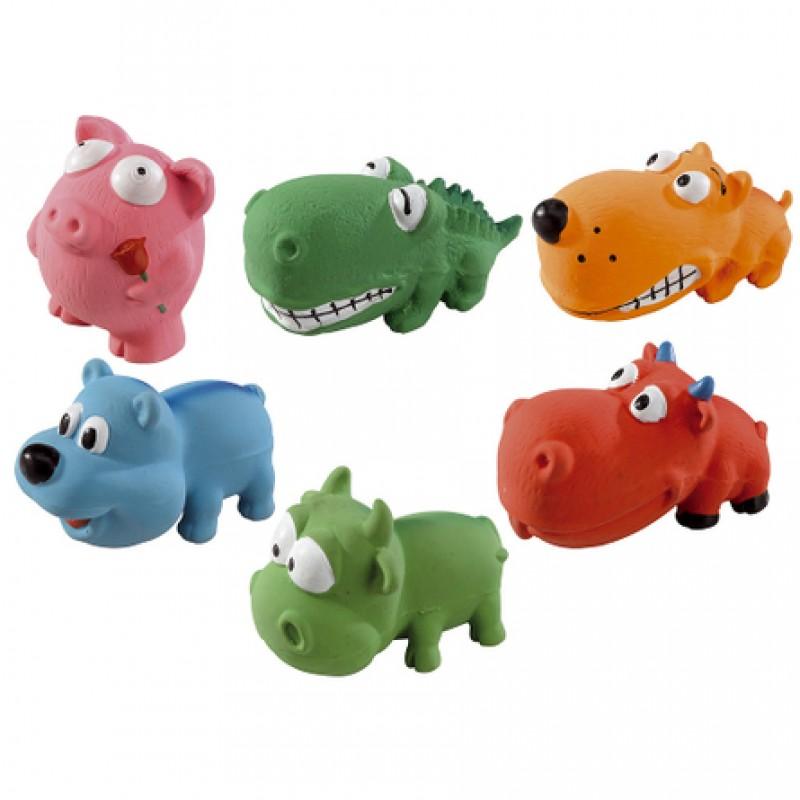 Ferplast  PA 5539 Игрушки-животные для собак в ассортименте, латекс