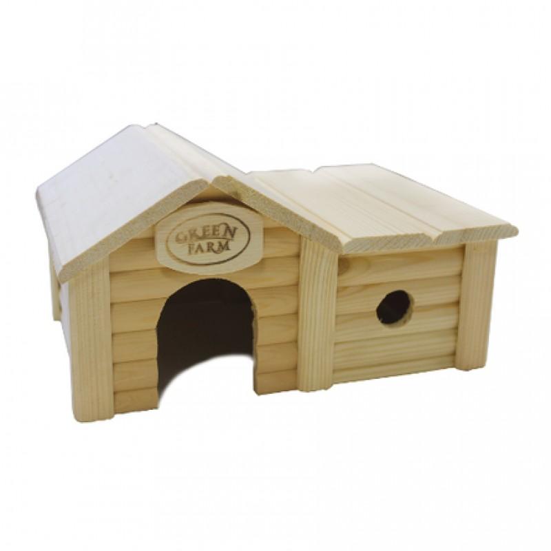 Дом с пристройкой для мелких грызунов И-239