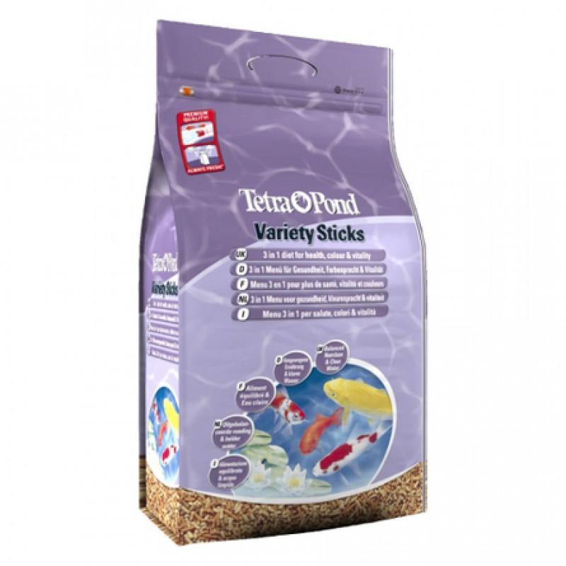 Tetra Pond Variety Sticks корм для прудовых рыб, 25 л