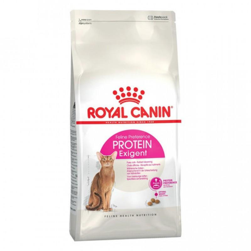 Royal Canin Exigent Protein Preference Сухой корм для привередливых к составу корма взрослых кошек, 4 кг