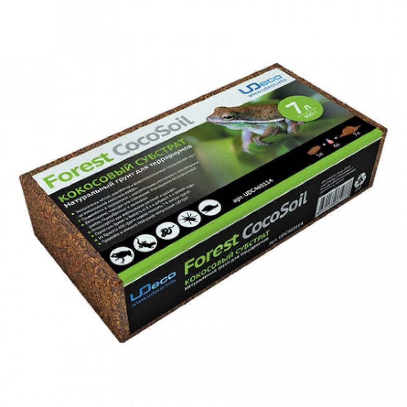UDeco Forest CocoSoil Кокосовое волокно для террариумов, 7 л