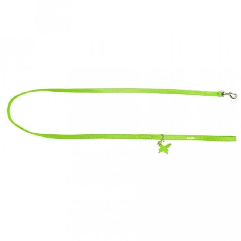 CoLLaR GLAMOUR Поводок зеленый (ширина 12 мм, длина 122 см)