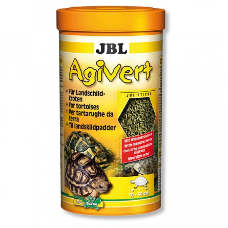 JBL Agivert Растительный корм для сухопутных черепах, палочки, 100 мл