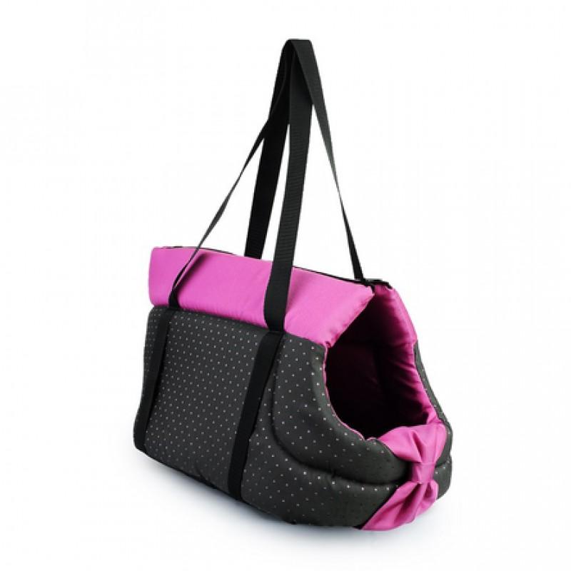 Comfy Переноска Lilly M розовые вставки